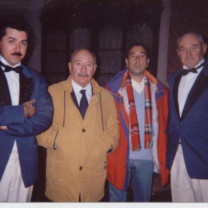 """""""Historia de un beso"""" de José Luis Garci. Con el director y el actor Alfredo Landa"""
